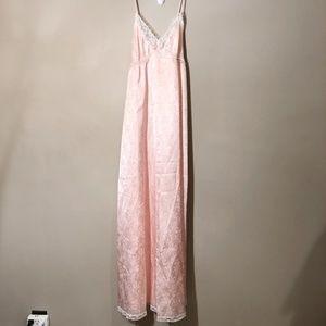 Christian Dior   Vintage Maxi Silk Nightgown Sz S